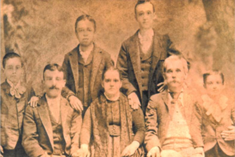 The Brigati Family 1876