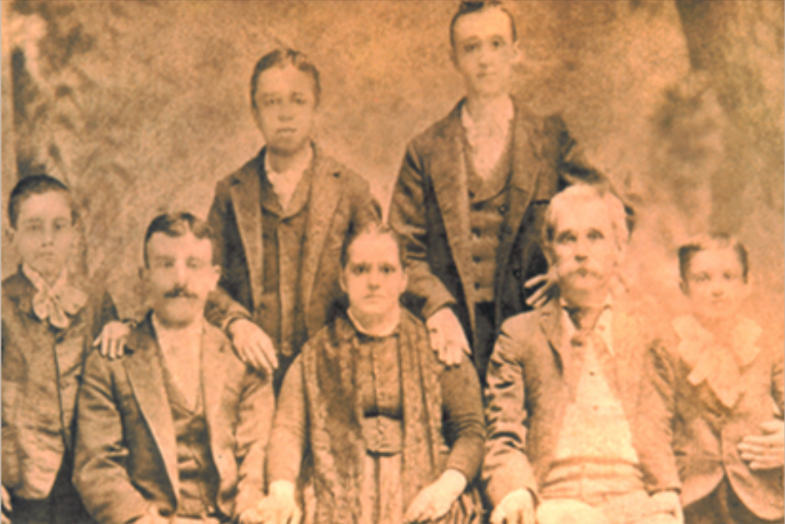 The Brigati Family 1876